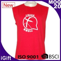 red vest t shirts with pattern